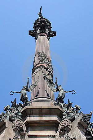 Landmark in Barcelona