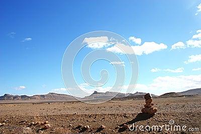 Landmark in the desert