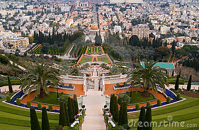 Landmark of Haifa Shrine of the Bab