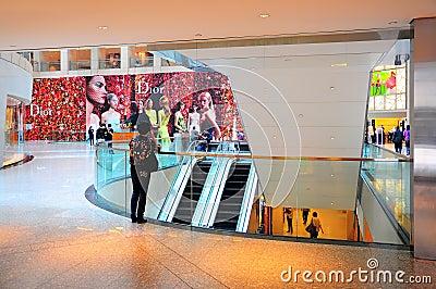 The landmark hong kong Editorial Image