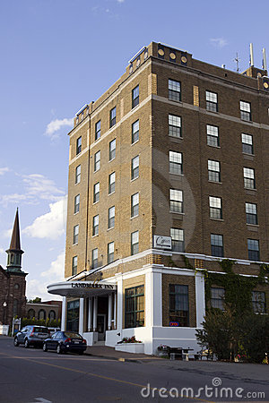 Landmark Inn Hotel in Marquette Editorial Image