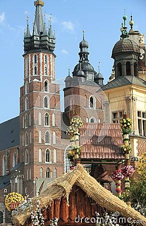 Landmark of Krakow, Poland