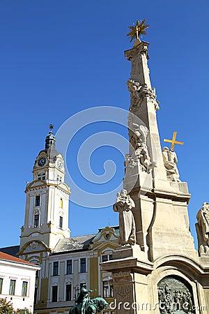 Landmark in Pecs, Hungary