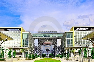 Landmark of Putrajaya Malaysia Editorial Stock Photo