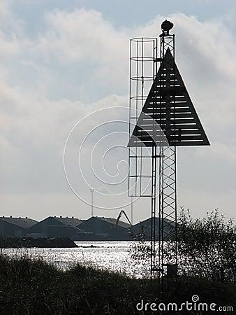 Landmark for sea