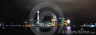 Landmark of shanghai china