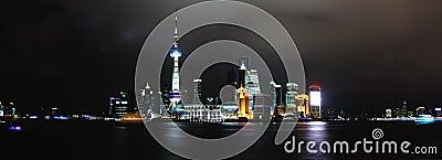 Landmark of shanghai china