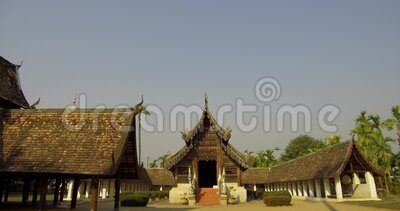 Landmark Travel Place of Chiang Mai, Tajlandia zbiory wideo