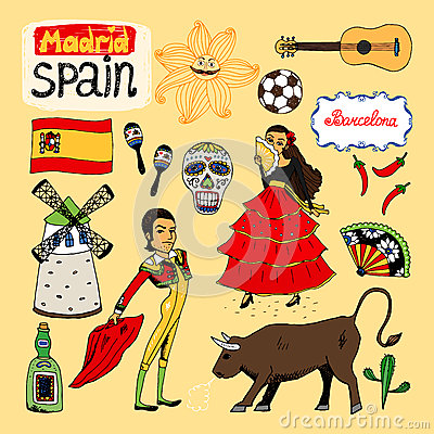 Landmarks and icons of Spain