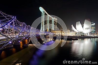 Landmarks in Singapore