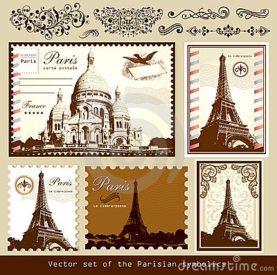 Landmarks and symbols of Paris