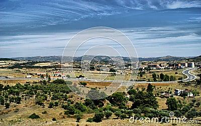 Lands of Braganca, north of Portugal