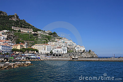 Landscape of the amalfi