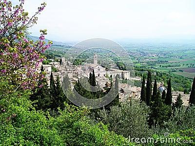 Landscape assisi