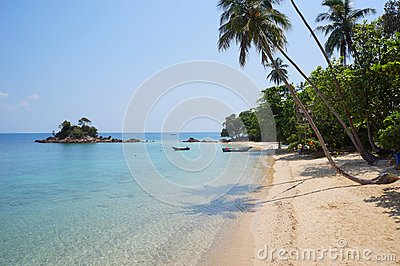 Landscape of beautiful tropical beach