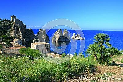 Landscape, Blue Mediterraneo
