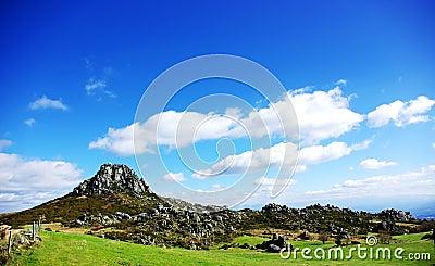 Landscape of Caramulo Mountain