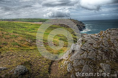 Landscape of Cornwall