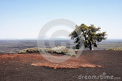 Landscape: Craters of the moon