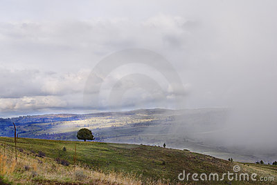 Landscape in Eastern Oregon