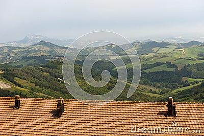 Landscape in Emilia Romagna (Italy)