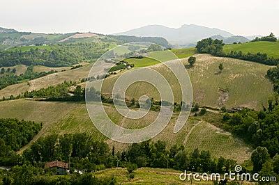 Landscape in Emilia-Romagna (Italy)