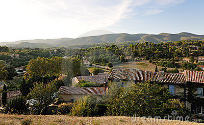 Landscape fron French Provence