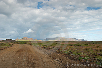 Landscape in Iceland