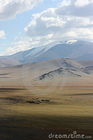 Free Landscape In Mongolia Royalty Free Stock Photo - 21925575