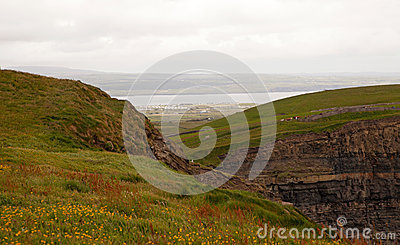 Landscape in Ireland