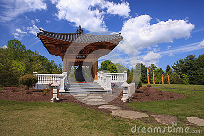 Landscape Korean Bell Garden Virginia