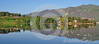 Landscape at Lake Orta,Italy