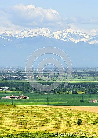Landscape of Monferrato (Italy)