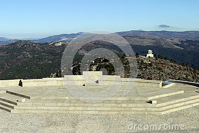 Landscape with mountais