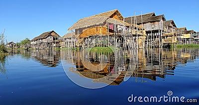 Landscape in Myanmar
