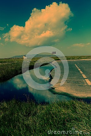 Free Landscape Of Qinghai Lake Stock Photography - 94208362