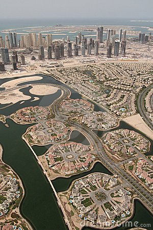 Landscape of Properties in Dubai