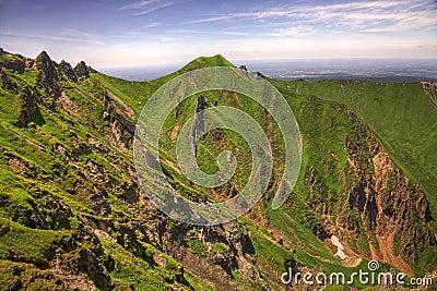 Landscape in Puy de Sancy Mountain