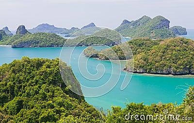 Landscape at samui island