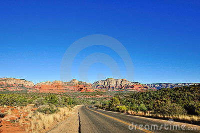 Landscape Of Sedona Desert Stock Photo - Image: 8314660