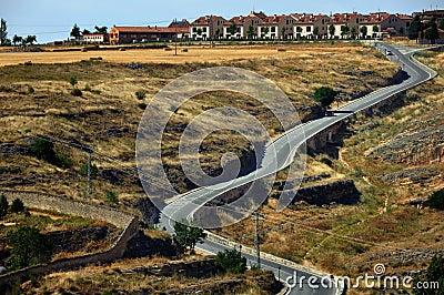 Landscape of Segovia Province