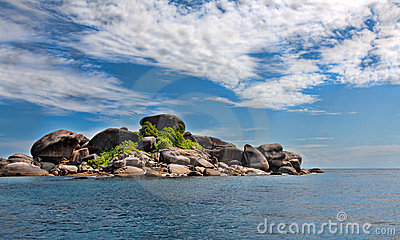 Landscape, Similan Islands