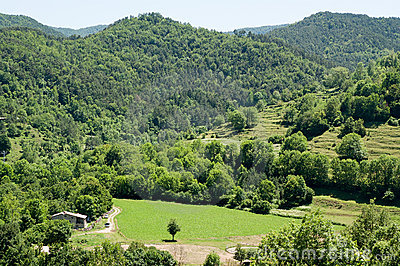 Landscape of the Spanish Pyrenees