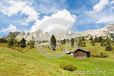 Landscape in Sudtirol