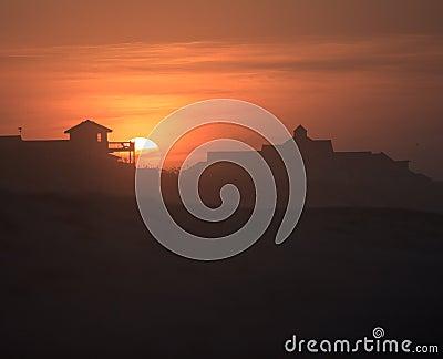 Landscape Sunrise Outer Banks North Carolina