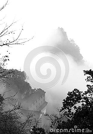 Landscape of taoist and zen