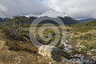 Landscape of Tierra Del Fuego