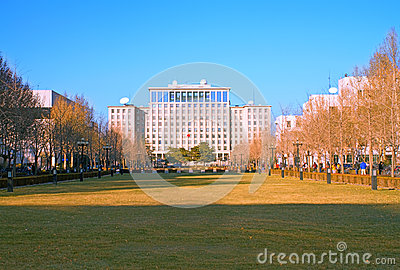Landscape of Tsinghua University