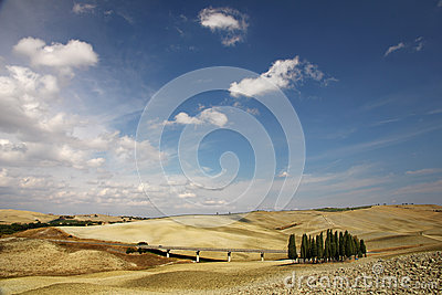 Landscape in Tuscany
