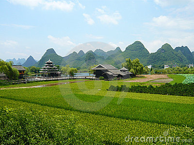 Landscape view in Guilin, China